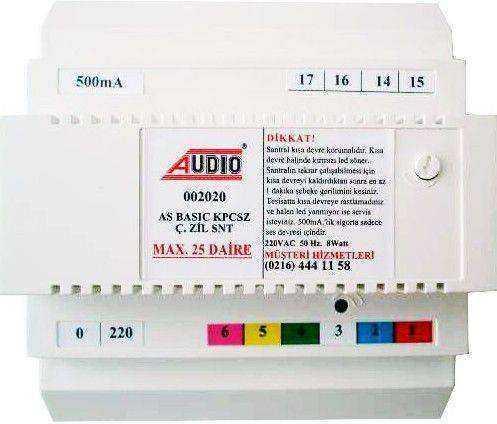 Audio 002020 Santral (8 Telli)  (Max 25 Daire)