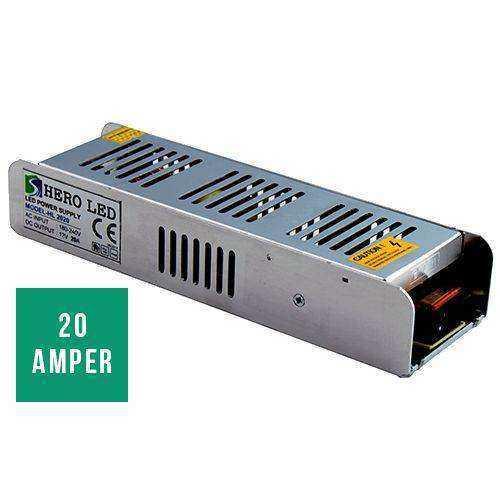 Hero 20 Amper Slim Led Trafo